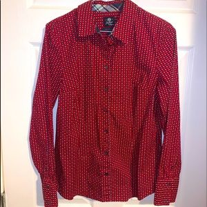Tommy Hilfiger flannel button up top. BNWOT